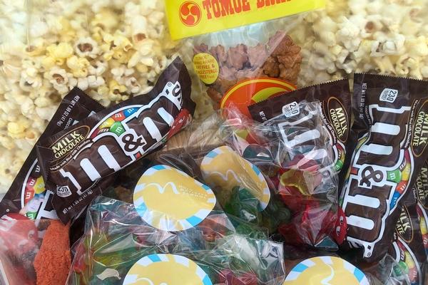 Kaki Mochi, M&Ms, Gummies